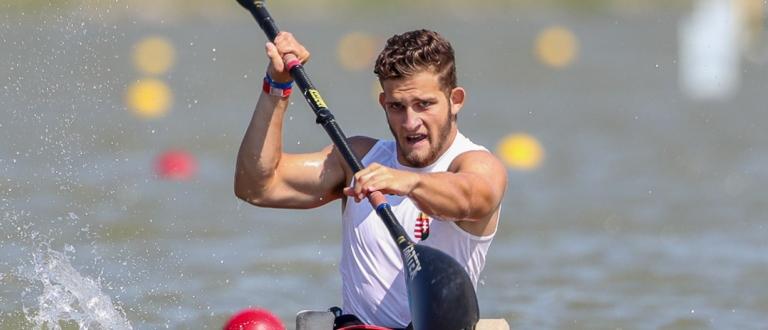 Hungary Peter Pal Kiss paracanoe world championships Szeged 2019
