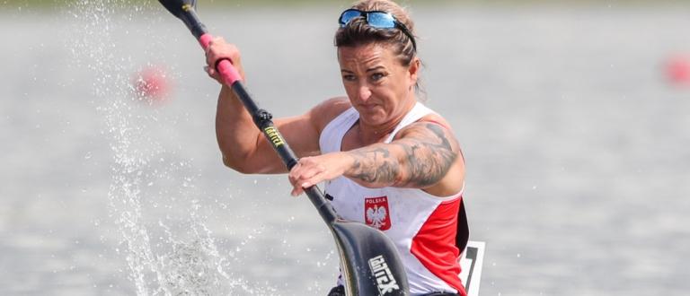 Poland Kamila Kubas paracanoe Szeged 2021