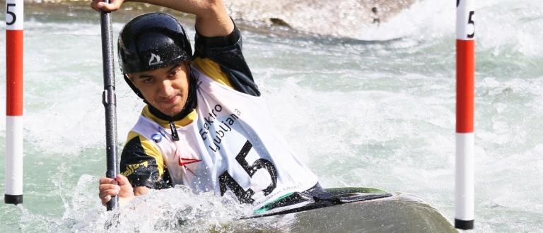 Jamaica Solomon Maragh junior K1 Tacen 2021 world championships