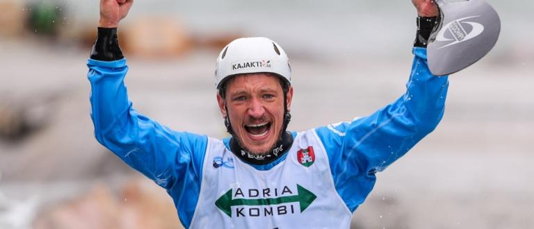 Sweden Isak Ohrstrom slalom K1 Tacen 2020