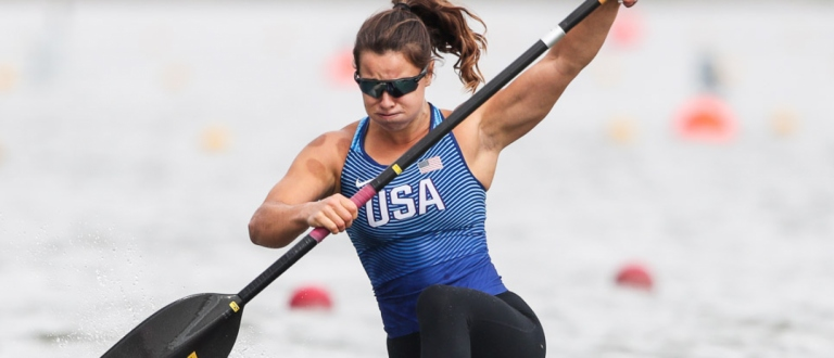 USA Nevin Harrison C1 200 canoe sprint Szeged 2020