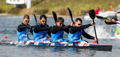 ICF Canoe Sprint World Cup Racice, Czech Republic