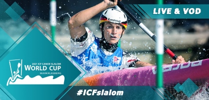 2021 ICF Canoe Kayak Slalom World Cup 2 Markkleeberg Germany Tokyo 2020 Olympic Selection Live TV Coverage Video Streaming