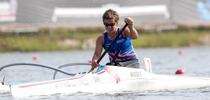Great Britain Emma Wiggs Paracanoe World Champioships 2018