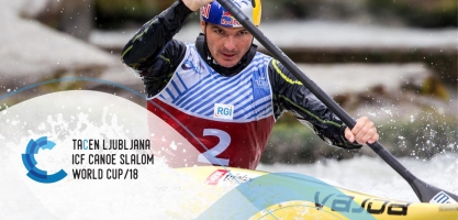 2018 ICF Canoe Slalom World Cup 4 Tacen Slovenia