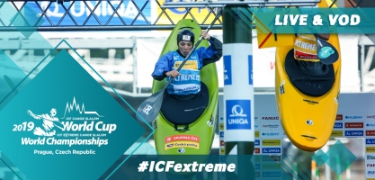 2019 ICF Canoe Extreme Slalom World Championships Prague Czech Republic