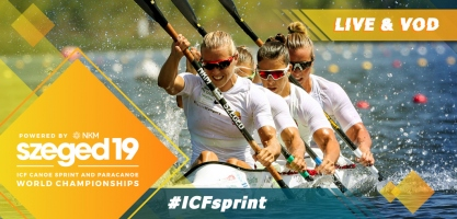 2019 ICF Canoe Sprint World Championships Tokyo 2020 Olympic Qualifier Szeged Hungary
