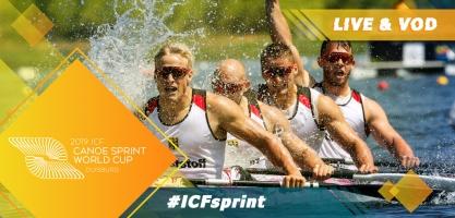 2019 ICF Canoe Sprint World Cup 2 Duisburg Germany