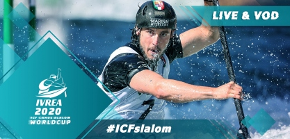 2020 ICF Canoe Kayak Slalom World Cup 1 Ivrea Italy Live Coverage