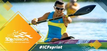 2020 ICF Canoe Kayak Sprint Masters World Championships Ternopil Ukraine