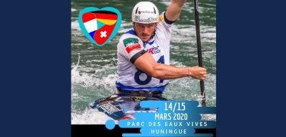 2020 ICF Canoe Slalom World Ranking Basel-Huningue poster