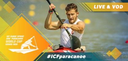 2020 ICF Paracanoe Kayak World Cup Szeged Hungary Live Coverage
