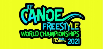 2021 ICF Canoe Freestyle World Championships Nottingham - logo