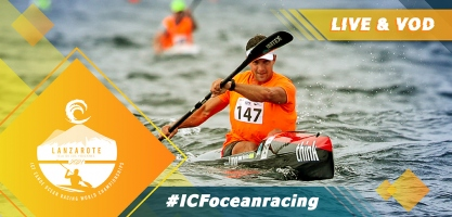 2021 ICF Canoe Kayak Ocean Racing World Championships Lanzarote Spain Live TV Coverage Video Streaming