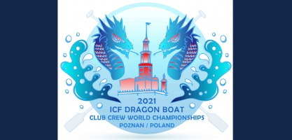 2021 ICF Dragon Boat Club Crew World Championships - Poznan - logo