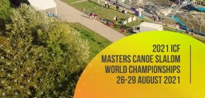 2021 ICF Masters Canoe Slalom World Championships logo