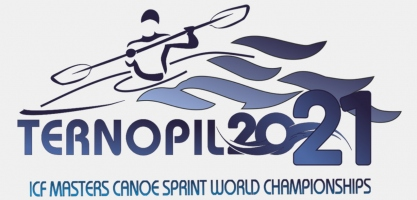 2021 ICF Masters Canoe Sprint World Championships Ternopil logo