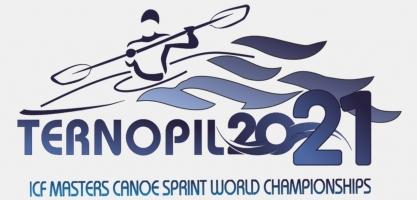 2021 ICF Masters Canoe Sprint World Championships Ternopil logo