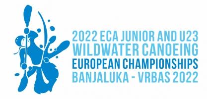 2022 ECA JUNIOR AND U23 WILDWATER CANOEING EUROPEAN CHAMPIONSHIPS - logo