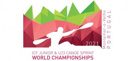 Logo: 2021 ICF Junior and U23 Canoe Sprint World Championships Montemor-o-Velho