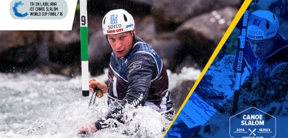 ICF Canoe Slalom World Cup Tacen, Slovenia
