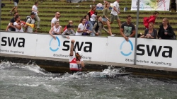 #ICFslalom 2017 Canoe World Cup 2 Augsburg - Sideris Tasiadis through to C1 Final