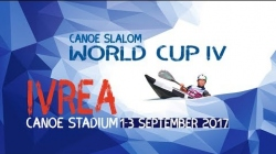 #ICFslalom 2017 Canoe World Cup 4 Ivrea - Sunday afternoon FINALS