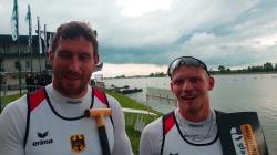 Sebastian BRENDEL & Tim HECKER / C2 1000m Gold - 2021 ICF Canoe Sprint World Cup 1 Szeged