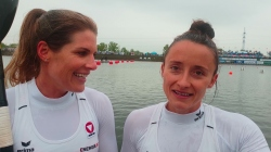 Ana-Roxana LEHACI & Viktoria SCHWARZ Austria / K2 500m Gold - 2021 ICF Canoe Sprint World Cup 2