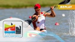 C2 Women 500m Final / 2018 ICF Canoe Sprint World Championships Montemor