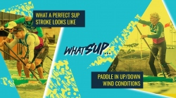 Perfect your stroke and paddle in up or downwind conditions - ICF and Starboard whatSUP webinar 2