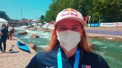 Evy LEIBFARTH USA / Gold Junior Kayak - 2021 ICF Canoe Slalom Junior & U23 World Championships