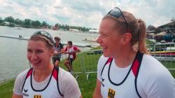 Sabrina HERING-PRADLER & Tina DIETZE Germany / K2 500m Gold - 2021 ICF Canoe Sprint World Cup 1