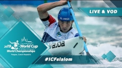 2019 ICF Canoe Slalom World Cup 5 Prague Czech Republic / Finals – C1m, K1w