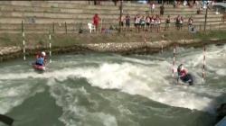 #ICFSlalom 2017 Junior & U23 Canoe World Championships, Bratislava, Sunday afternoon finals evens
