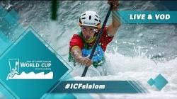 2019 ICF Canoe Slalom World Cup 4 Markkleeberg Germany / Heats – C1m, K1w