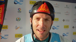 Nejc Znidarcic Slovenia K1 Gold / 2019 ICF Wildwater Canoeing World Championships La Seu Spain
