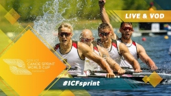 2019 ICF Canoe Sprint World Cup 2 Duisburg Germany / Day 2: Semis, B Finals PT1