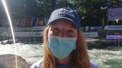 Klara KNEBLOVA Czech Republic / Gold - 2021 ICF Canoe Slalom Junior & U23 World Championships