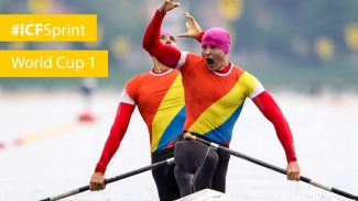 REPLAY: Duisburg day 3 - MORNING   2016 ICF Canoe Sprint World Cup 1