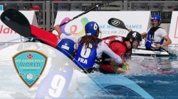 2018 ICF Canoe Polo World Championships Welland /Day 2/ Wednesday eve - Preliminary rounds - Pitch 2