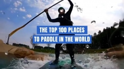 The top 100 places to paddle in the world is coming! #Paddle100