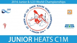 REPLAY C1M Junior Heats - 2016 Junior & U23 World Champ
