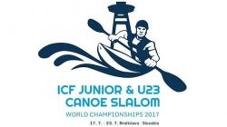 #ICFSlalom 2017 Junior & U23 Canoe World Championships, Bratislava, Wednesday morning evens