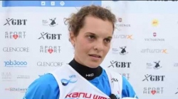 Cecilia Panato ITA C1 Women Sprint Gold / 2018 ICF Wildwater Canoeing World Championships Muota