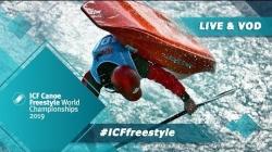2019 ICF Canoe Freestyle World Championships Sort / Semis Jnr K – Quarters Kw