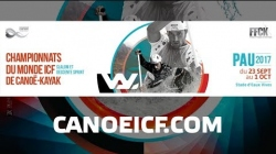 #ICFslalom 2017 Canoe World Championships Pau France - Thu Slalom EVEN