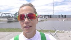 #ICFsprint 2017 Canoe World Cup 1 Montemor-o-Velho - Hungary's Krisztina Fazekas Zur