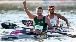 Hank McGregor (RSA) K1M Canoe Marathon World Champion