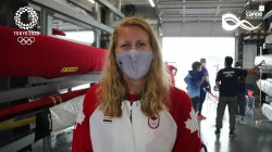 Interview with Canada's double Tokyo 2020 Olympic medallist Laurence Vincent-Lapointe